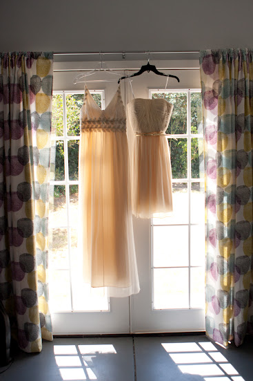 These are our dresses next to each other. © Josh McMurtrie Photography