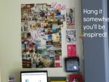Small Life, Slow Life: How to Make a Vision Board! {Photos}